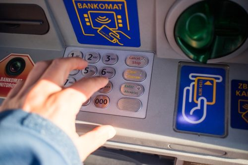 ATM withdrawal abroad