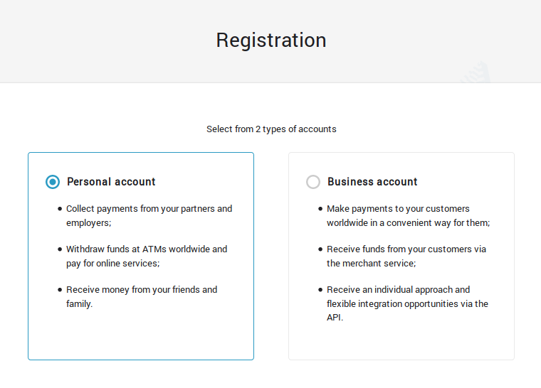 ePayments Review – private or business signup
