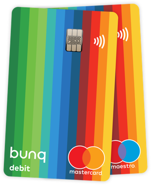bank cards by bunq