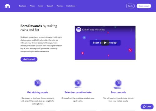 Kraken crypto investment platform