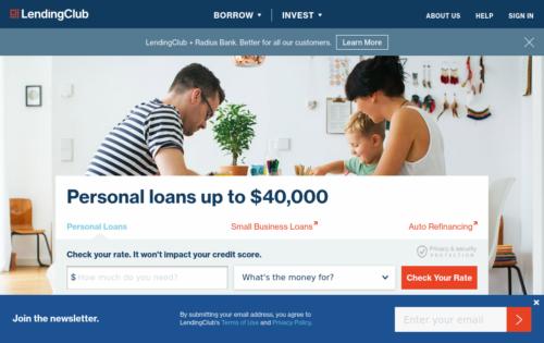 LendingClub small business loan