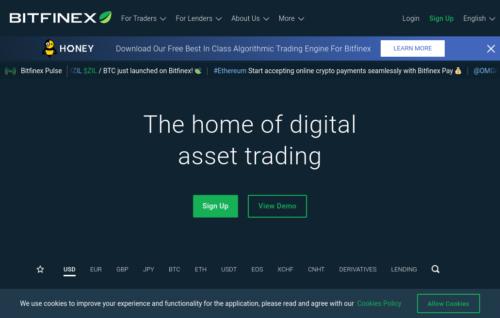 Bitfinex Bitcoin cash out platform