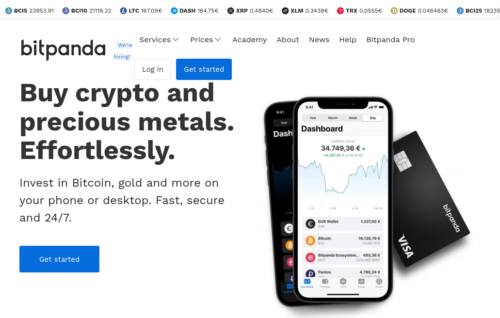BitPanda Bitcoin cash out platform