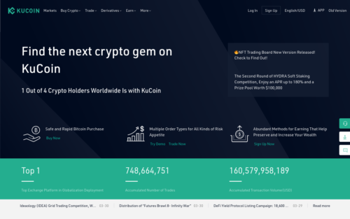 Kucoin Bitcoin selling